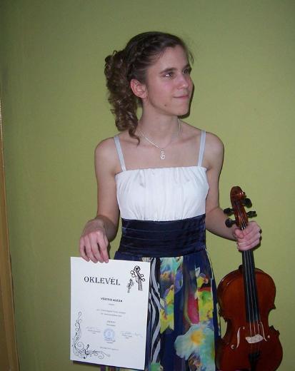 Hegedűs siker a megyei versenyen