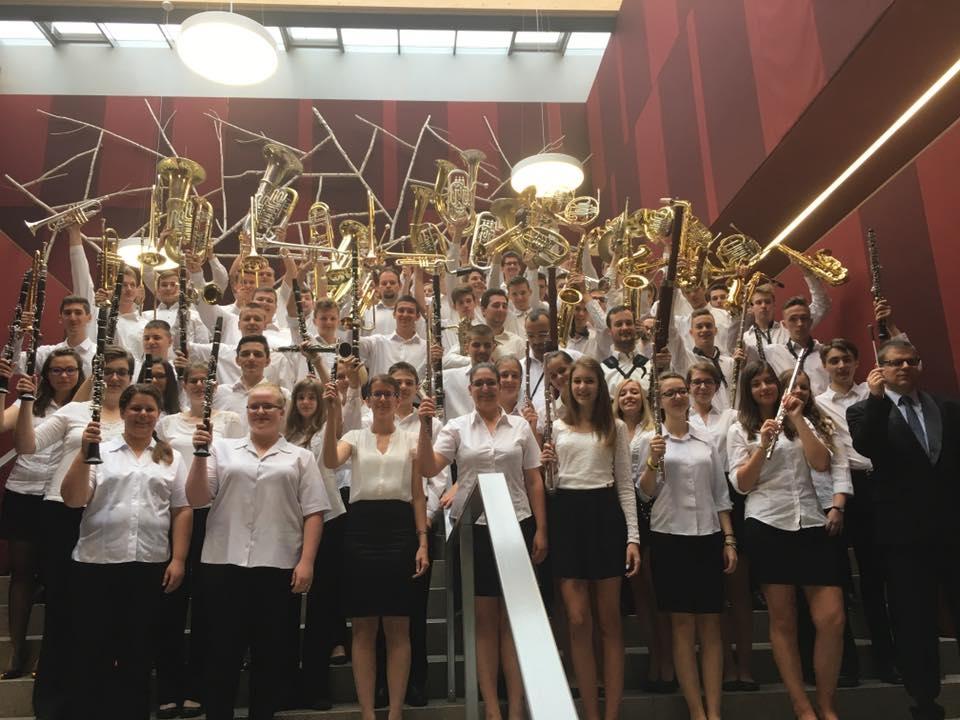 Kategóriagyőztes lett Ausztriában a Dombóvári Ifjúsági Fúvószenekar