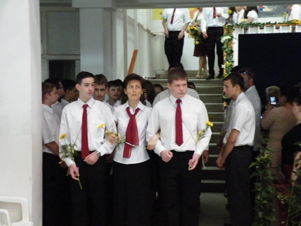 Ballagás a Belvárosi Iskolában
