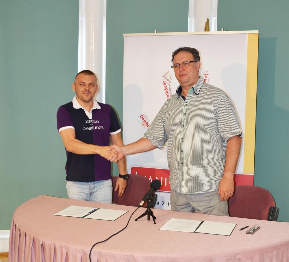 Együttműködési megállapodást kötött  a Gunaras Zrt. és Dombóvár Város Önkormányzata