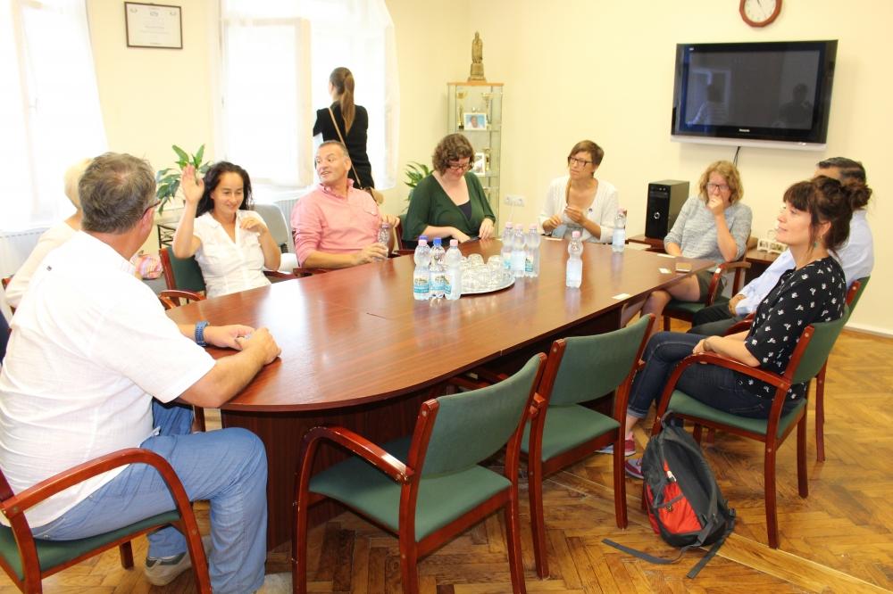 Belgiumból érkezett küldöttség járt Dombóváron