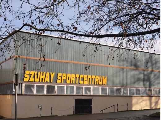 Digitális eredménykijelző a Szuhay Sportcentrumban