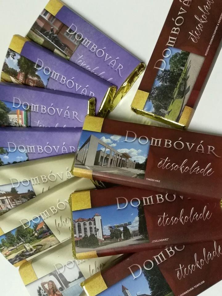 """Három fajta """"Dombóvár"""" csoki készült"""