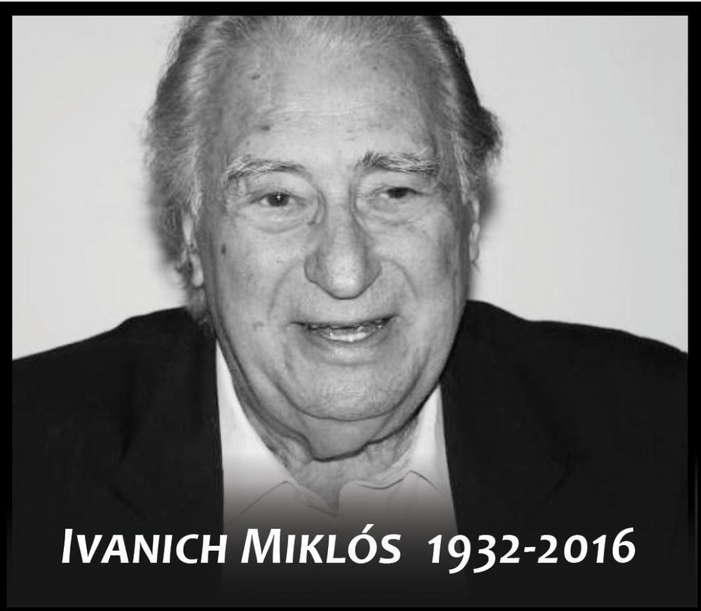 Elhunyt Ivanich Miklós zongoraművész