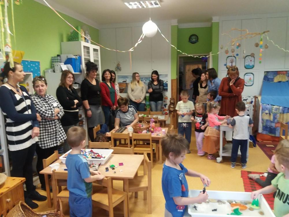 Továbbképzés a kisgyerekek személyiség-fejlesztéséhez