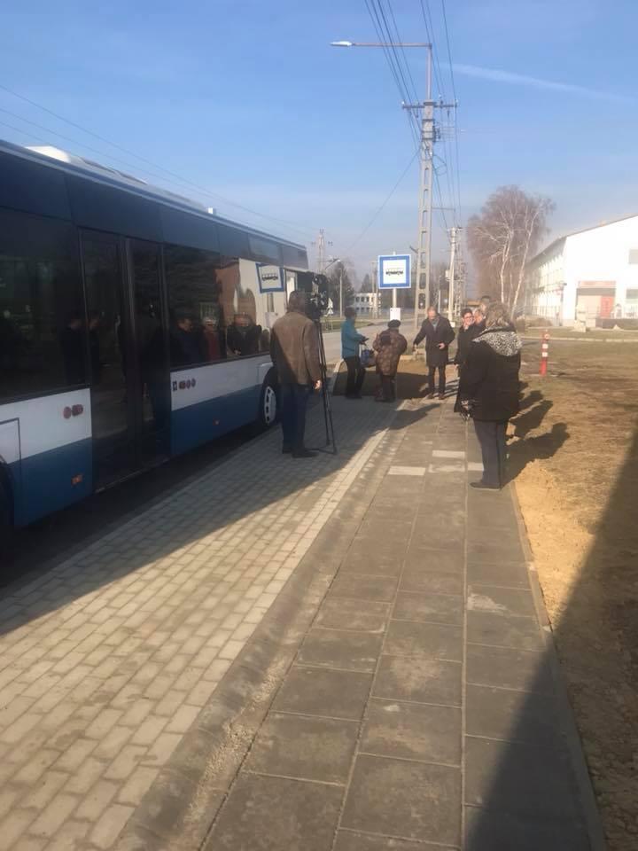 Alulról jövő kezdeményezés nyomán lett új buszmegálló