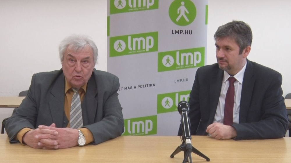 Dr. Kretz István József az LMP jelöltje