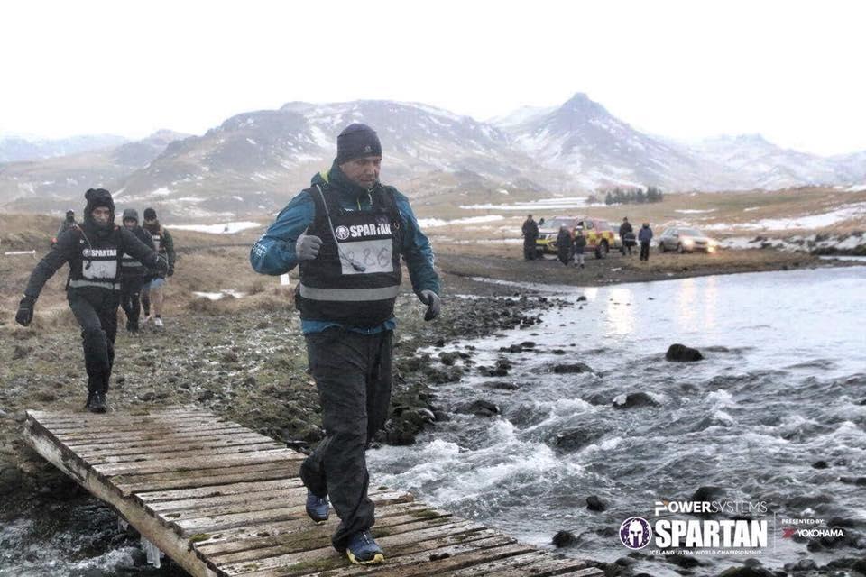 Terepfutás hóban és fagyban Izlandon