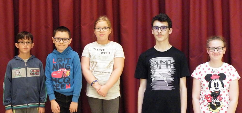 Német nyelvű szavalóversenyen a diákok