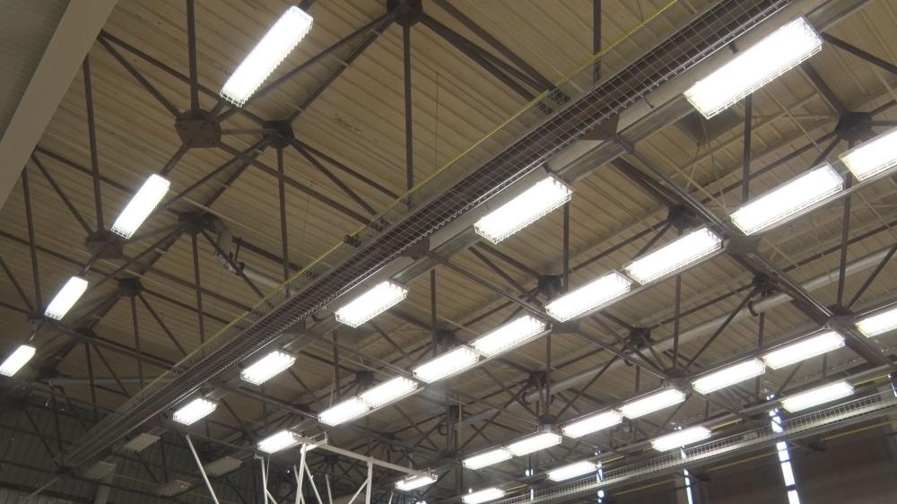 Megújult a Szuhay Sportcentrum két termének világítása