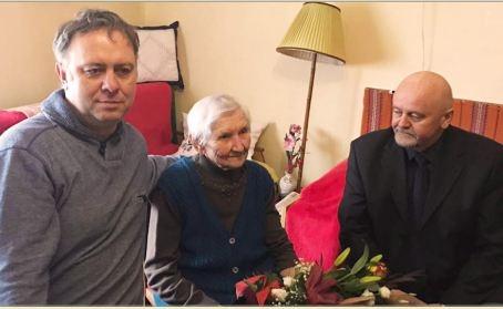 90 éves lett Simon Lajosné