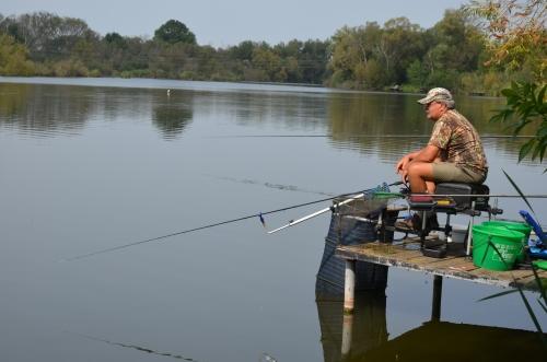 Horgásznap a Tüskei-tónál