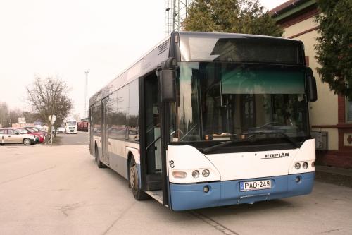 Három újabb buszt kapott Dombóvár