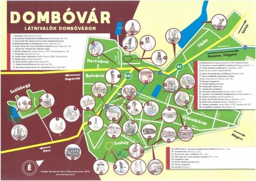 Ingyenes kiadvány a Dombóvárra érkezőknek